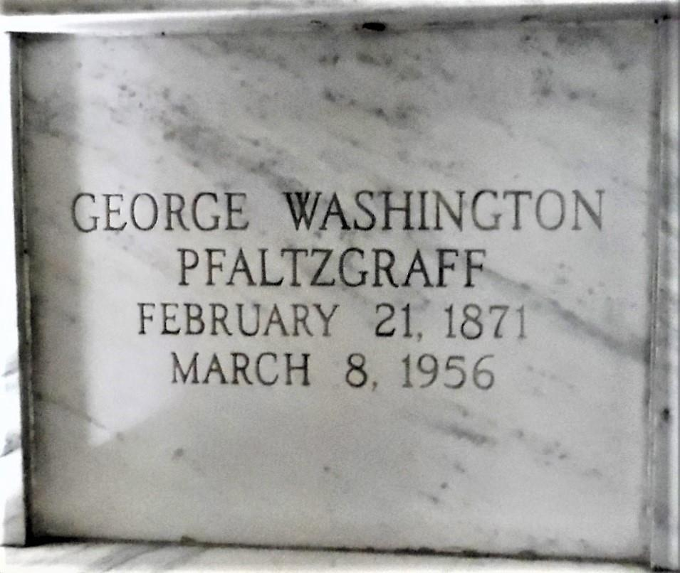 George Washington Pfaltzgraff