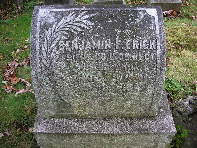 "Benjamin Franklin ""Ben"" Frick"